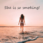 She is so smoking! の意味とは?スラング英語 smoking の意味と使い方をネイティブが解説するよ!